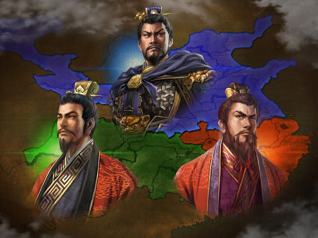 สามก๊ก - โจโฉ เล่าปี่ และ ซุนกวน