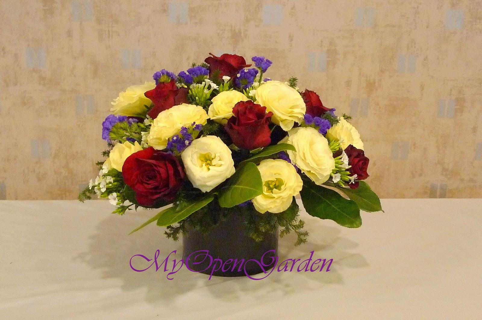 Open Garden: 歐式花藝教學 — 混合式手法俾德麥亞(Biedmere)型