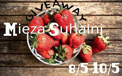 Pemenang Giveaway FV oleh Mieza Suhaini