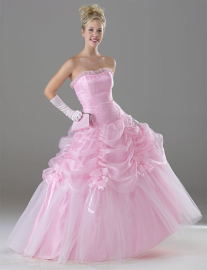 f6013cc960 Beautiful New Wedding Gown Pink Colour - Wedding Dress Obsessed