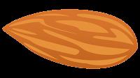 almond nut clip art