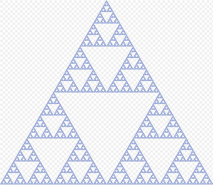 Drawing Sierpinski's Triangle in Minecraft Using Python