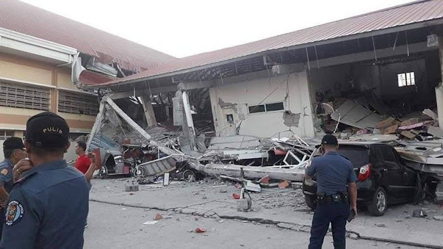 6.1-Magnitude Earthquake Hits Luzon (April 22, 2019), Plenty of Buildings and Landmarks Destroyed