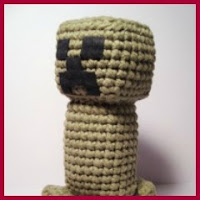Creeper Minecraft amigurumi