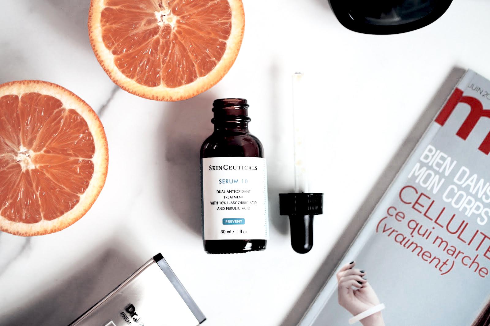 skinceuticals serum 10 anti oxydant avis test