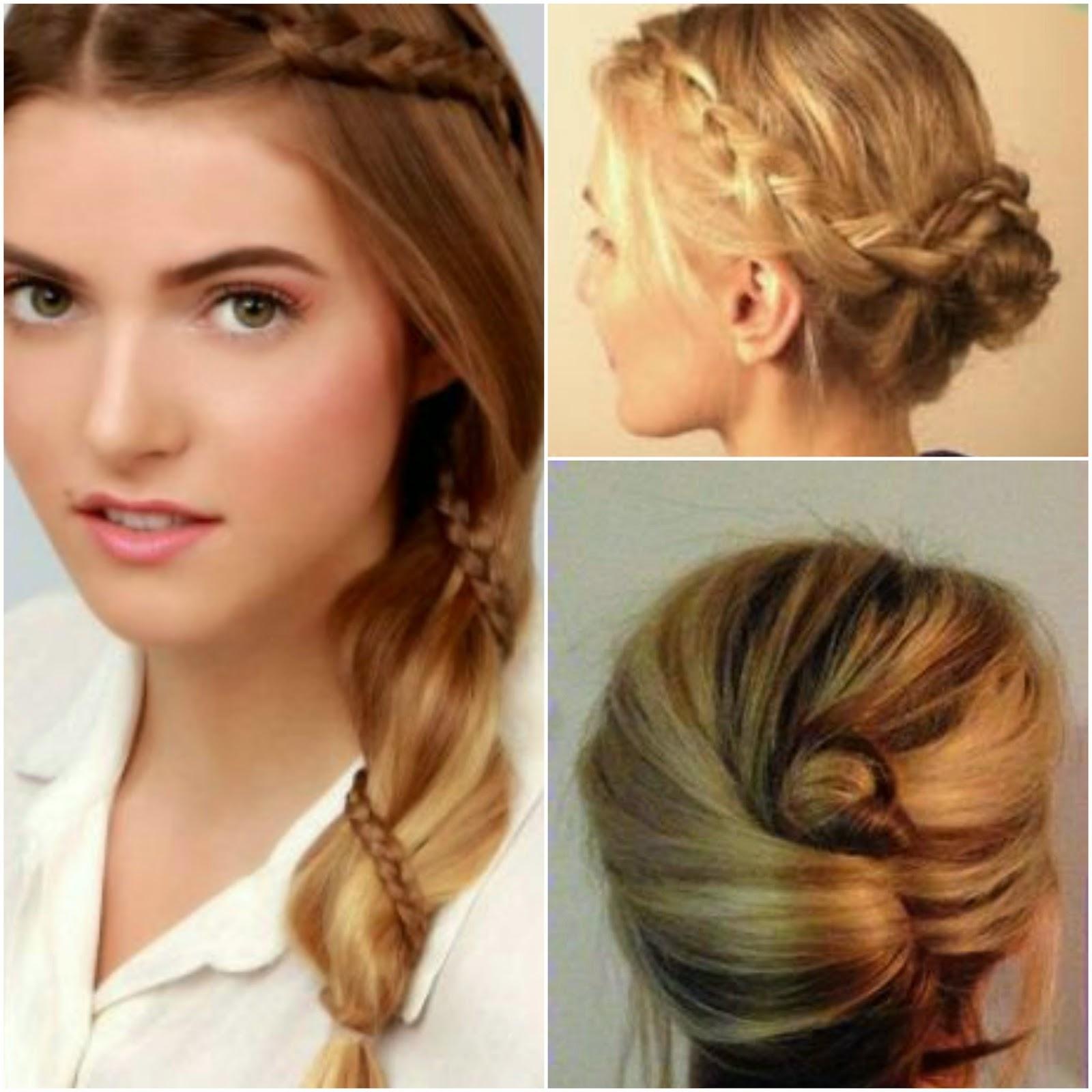 Peinados sencillos y bonitos paso a paso elainacortez - Peinados bonitos paso a paso ...