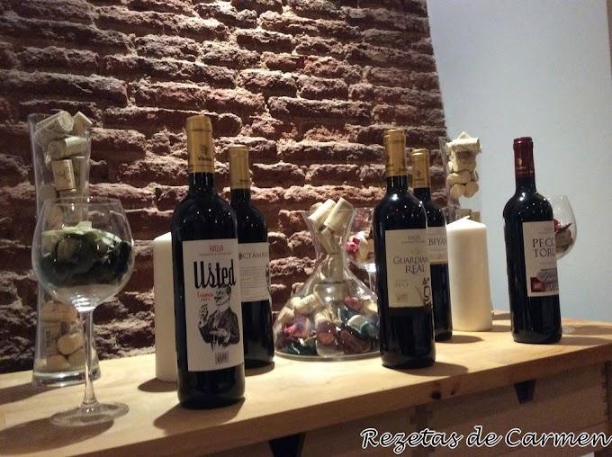 Cata de vinos en La Cabra