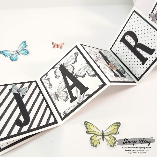 Stampin' Up! Botanical Butterfly dsp Sale-a-bration, 30 jaar samen