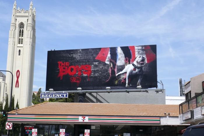 Boys TV series teaser billboard