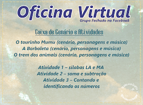 Oficina Virtual 04/2018 - inscreva-se