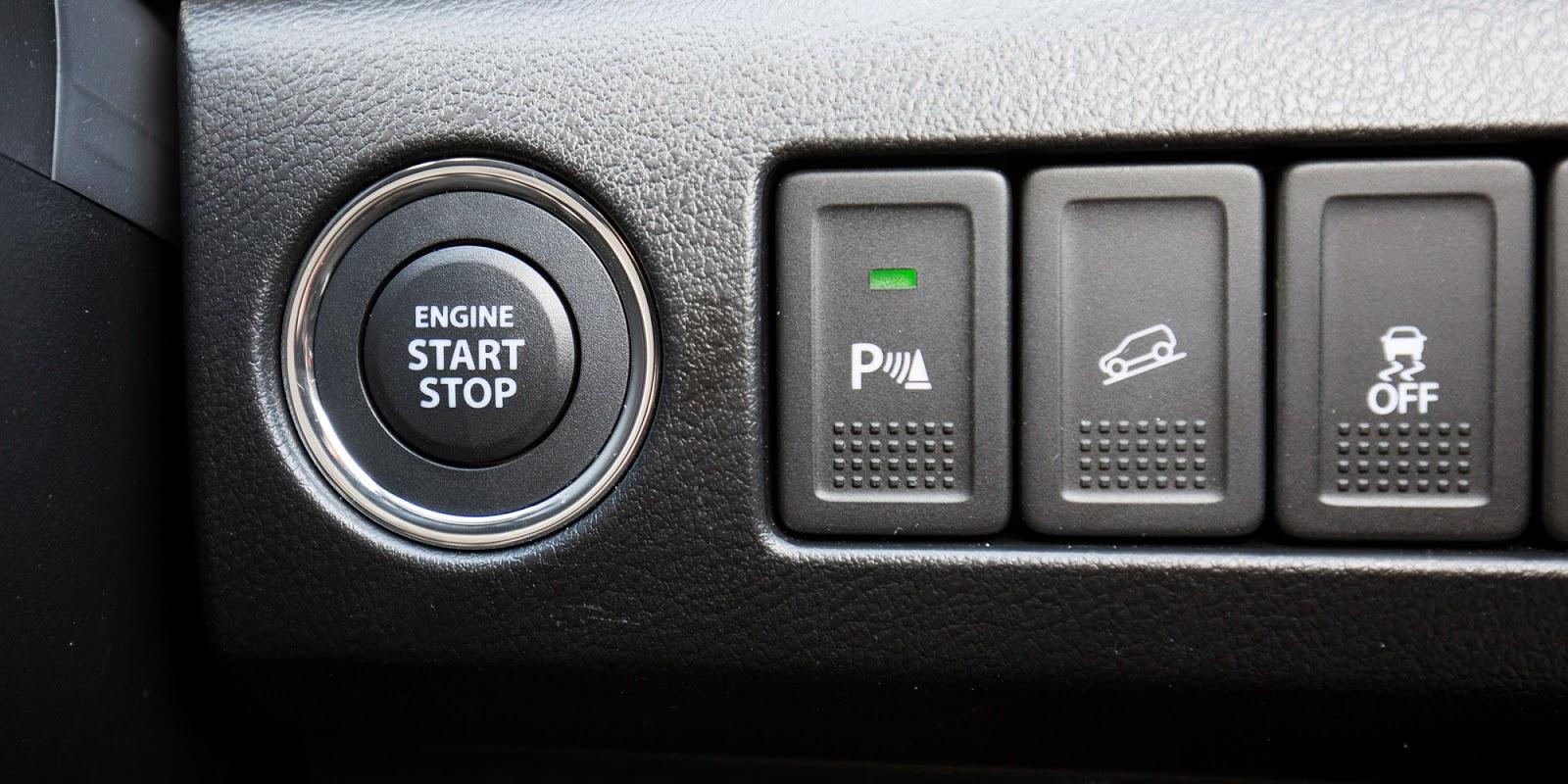 Nút khởi động thông minh, hệ thống chuyển nhiều chế độ lái