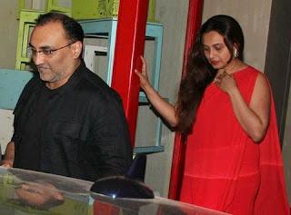 Rani Mukherjee and Aditya Chopra's first public picture is here.