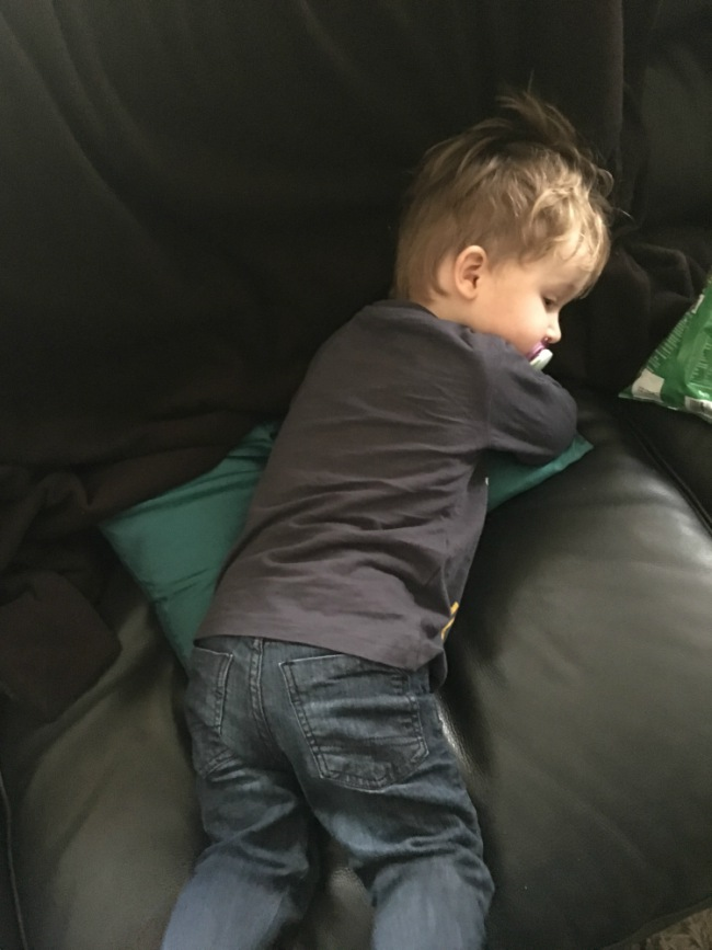 our-weekly-update-19-feb-toddler-on-sofa