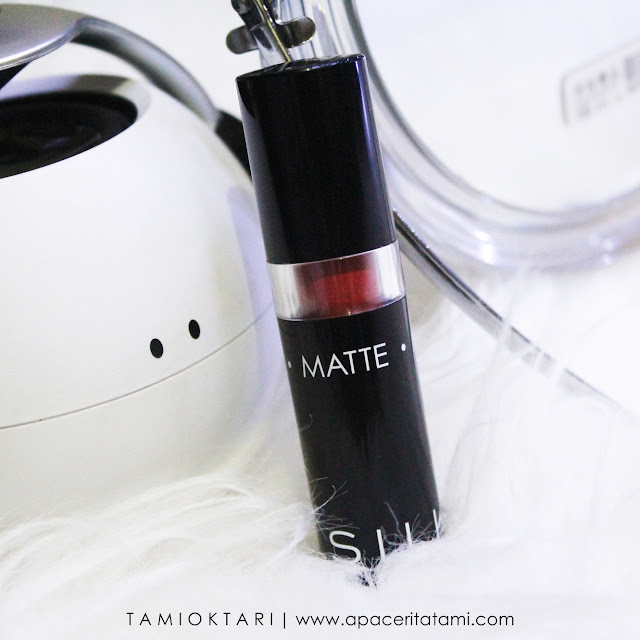 [REVIEW] SILKY GIRL GO MATTE LIPCOLOR SHADE FOXY RED