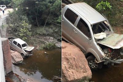 Ex primeira dama  de de Iramaia morre em acidente de carro