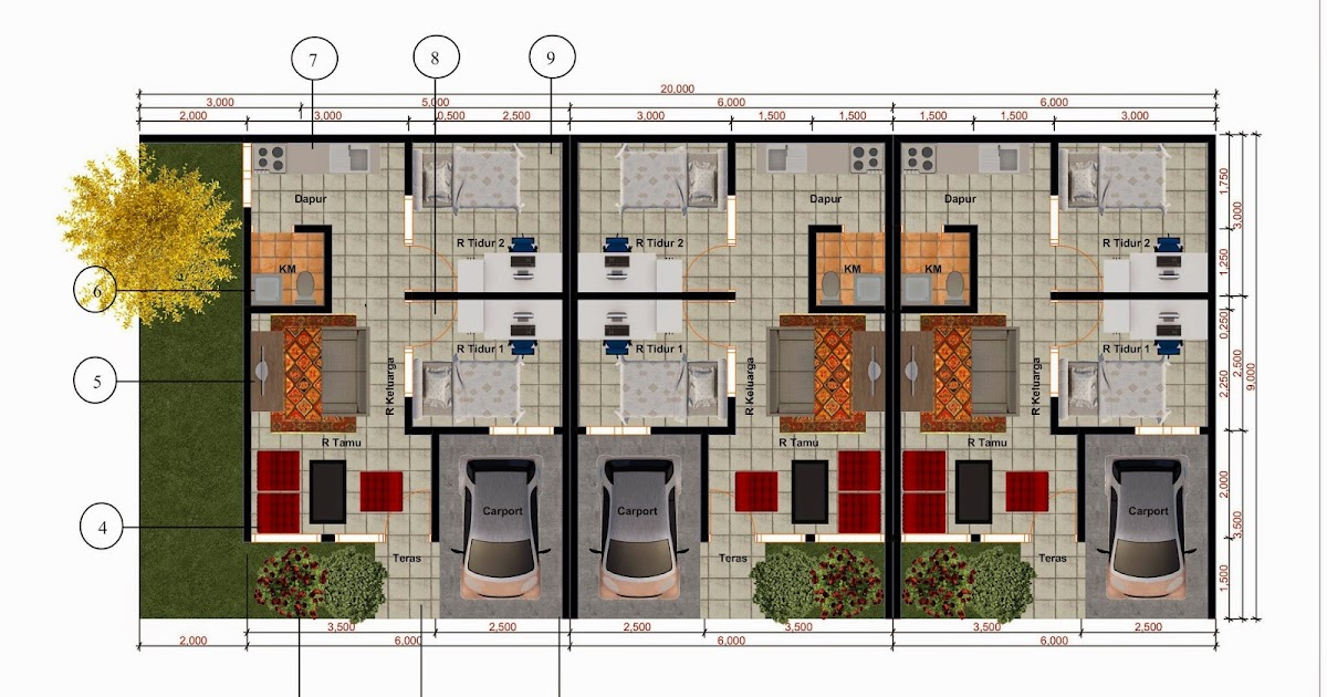 21+ Istimewa Desain Rumah Minimalis 2 Lantai Type 40