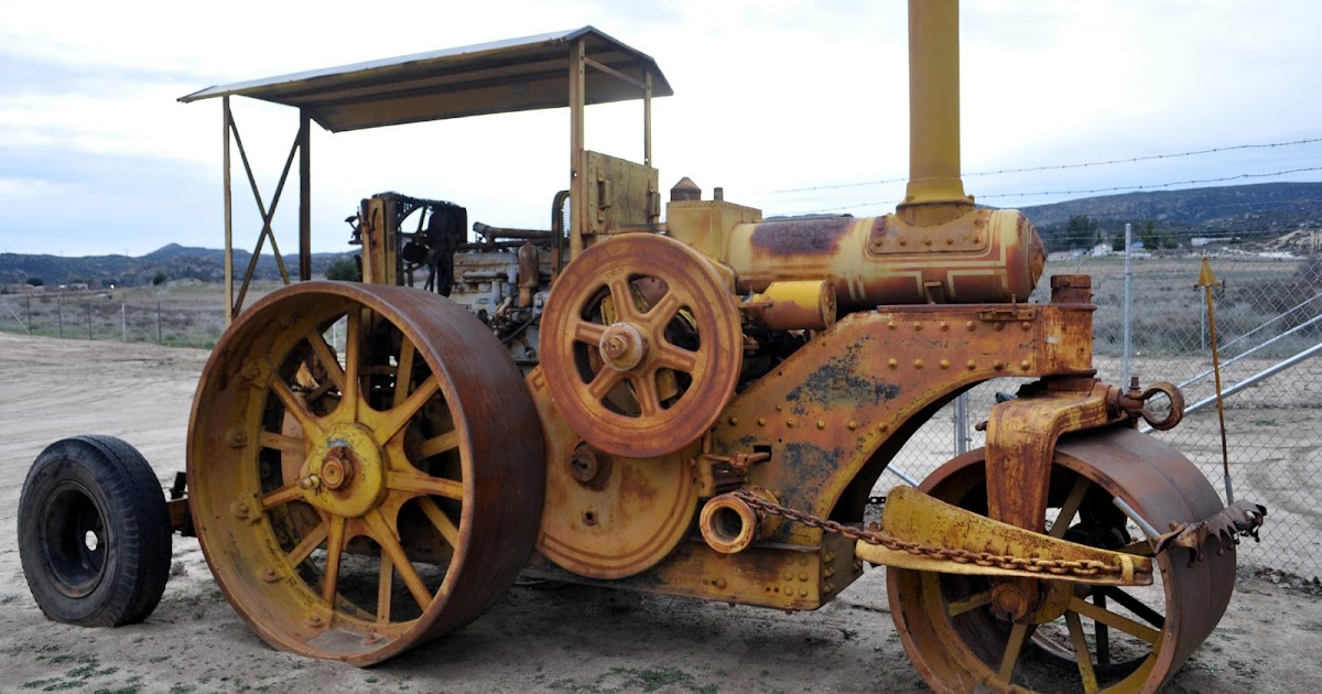 Just a car guy buffalo springfield steam roller built for Master motors of buffalo inc