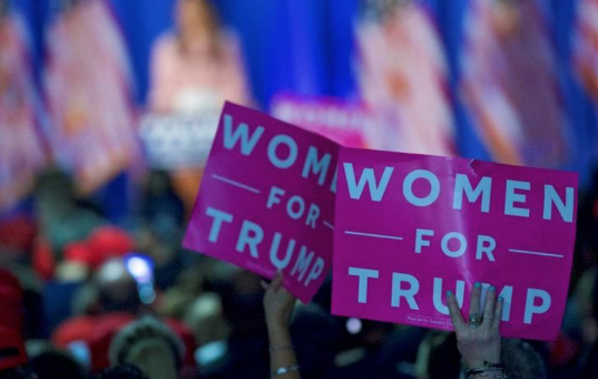 In Pennsylvania, women who voted for Trump voice support after first year