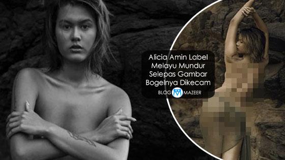 Alicia Amin Label Melayu Mundur Selepas Gambar Bogelnya Dikecam