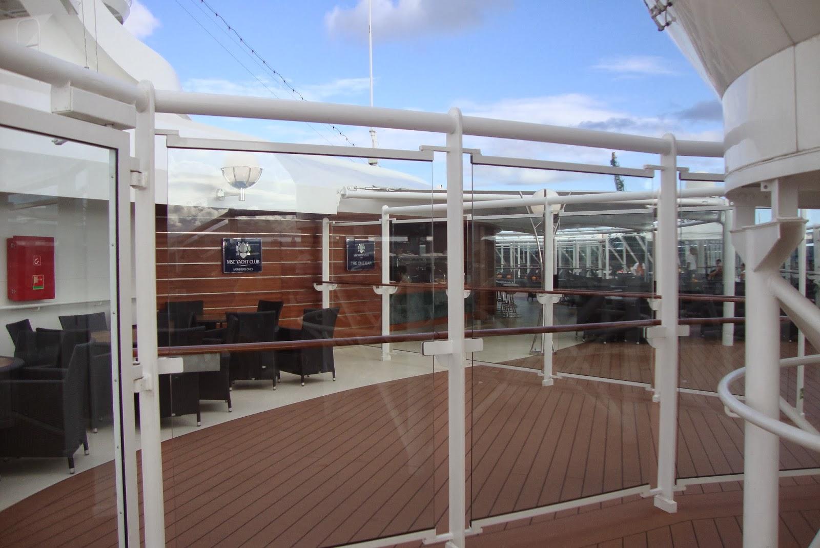 Yacht Club do MSC Preziosa