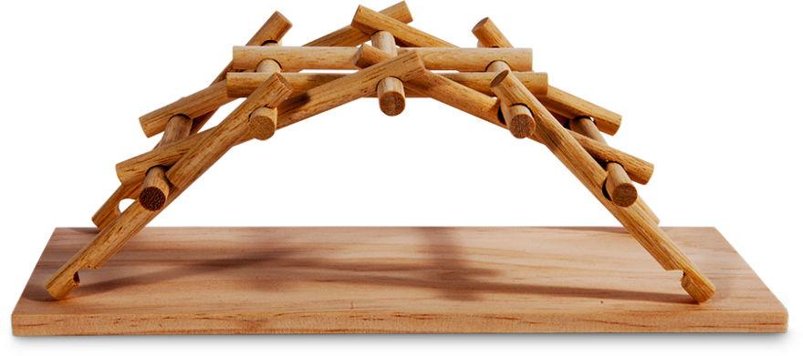 Leonardo da Vinci's bridge.