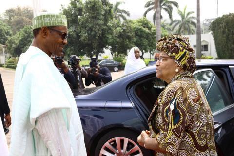 liberian president buhari nigeria