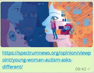 Autistnen nainen ei ole kovin erilainen