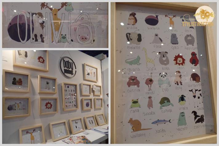 cuadros murales y talleres de arte para bebes