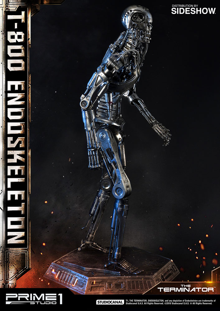 4ft Led Shop Light >> toyhaven: Prime 1 Studio 1:2 scale T-800 Endoskeleton (The Terminator) 41 inches tall Statue Preview
