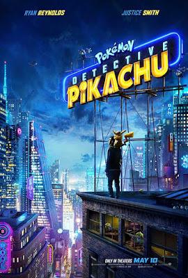 Poster Pokémon Detective Pikachu 2019 Dual Audio HD 720p