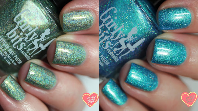 Girly Bits Cosmetics March 2019 CoTM swatch by Streets Ahead Style