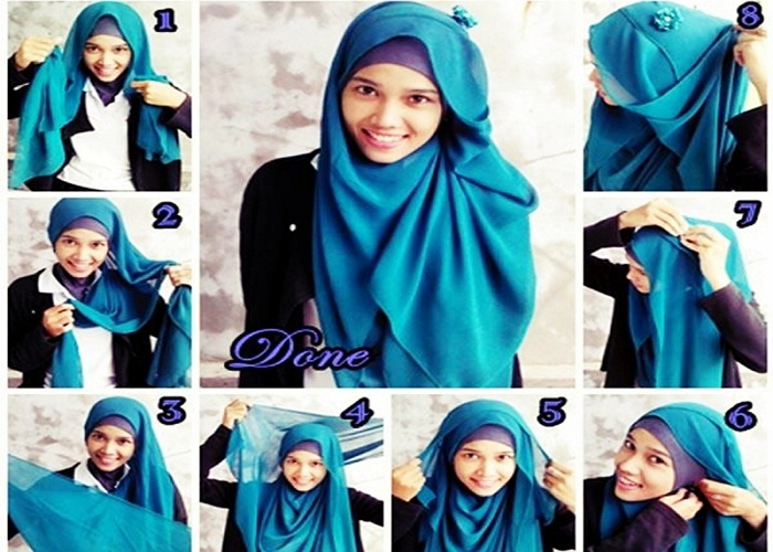 Free download tutorial hijab nfl