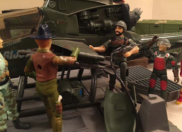 1983 Dragonfly, Wild Bill, Starduster, Mail Away, Clutch, Flash, G.I. Joe Headquarters, HQ