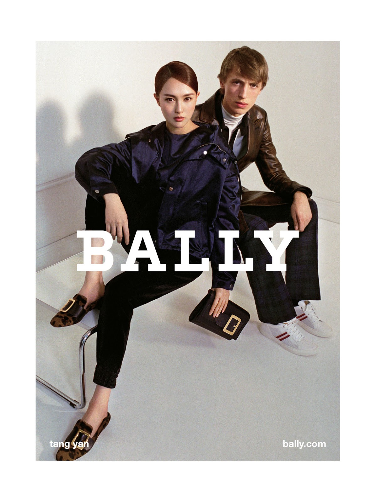 First Look: Bally's Fall/Winter 17 FULL Ad Campaign With Tang Yan