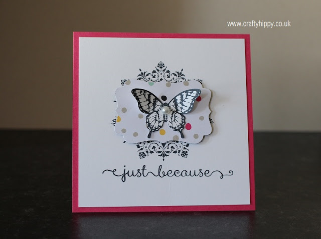 Papillon Potpourri stamp set, Stampin' Up!