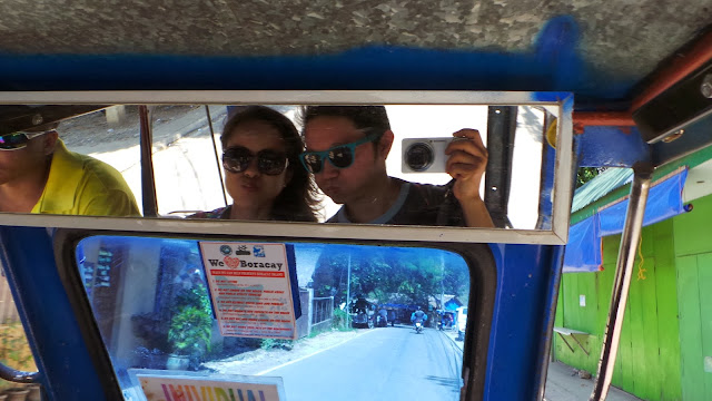 Tricycle Ride in Boracay