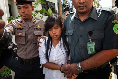 Drug mule Mary Jane Veloso is currently on death row in Indonesia.