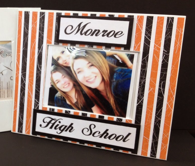 DIY - Monroe High Graduate Frame