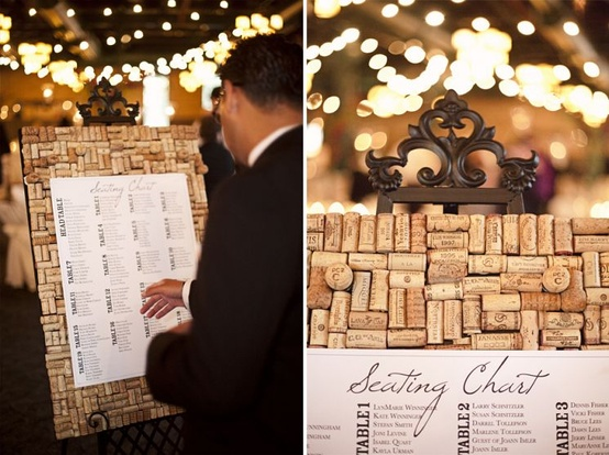 Wedding Talk: Wine Bottle Cork Napkin Rings