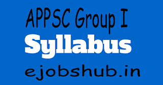 APPSC Group I Syllabus