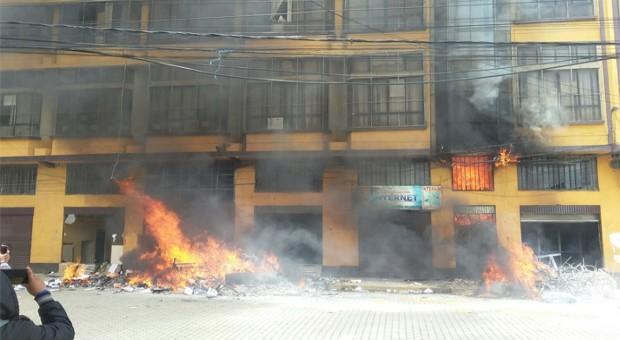 El Defensor condena actos criminales en El Alto y pide sanciones ejemplares