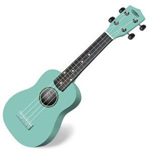 dan ukulele mau xanh ngoc