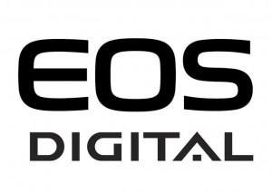 Canon EOS DSLR Digital Camara Logo