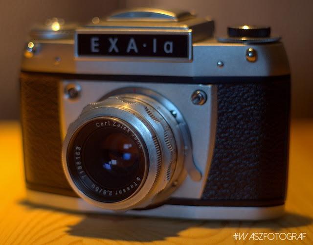 Aparat Exa 1a - Fotografia tradycyjna na wysokim poziomie