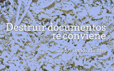 Destruir documentos de conviene