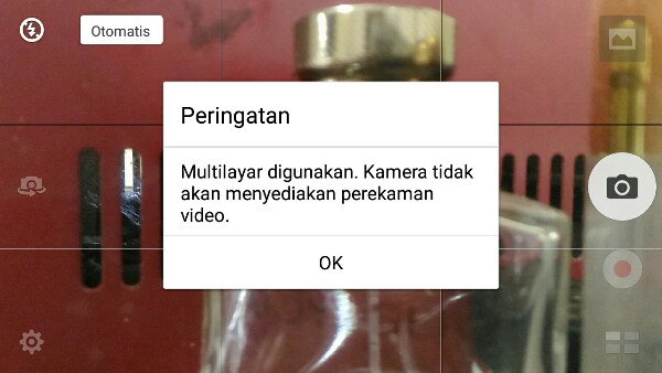 Kamera Zenfone error