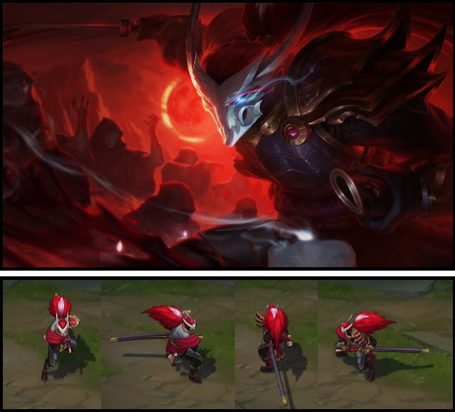 Mod Skin Yasuo Blood Moon Official 2