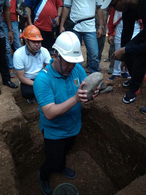 Bupati Pesawaran Letakan Batu Pertama Pembangunan Diving Center