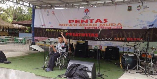 "Ahmad Achsan Raih Juara 1 ""Cilegon Mencari Bakat"" Yang Digelar Kemenpora RI"