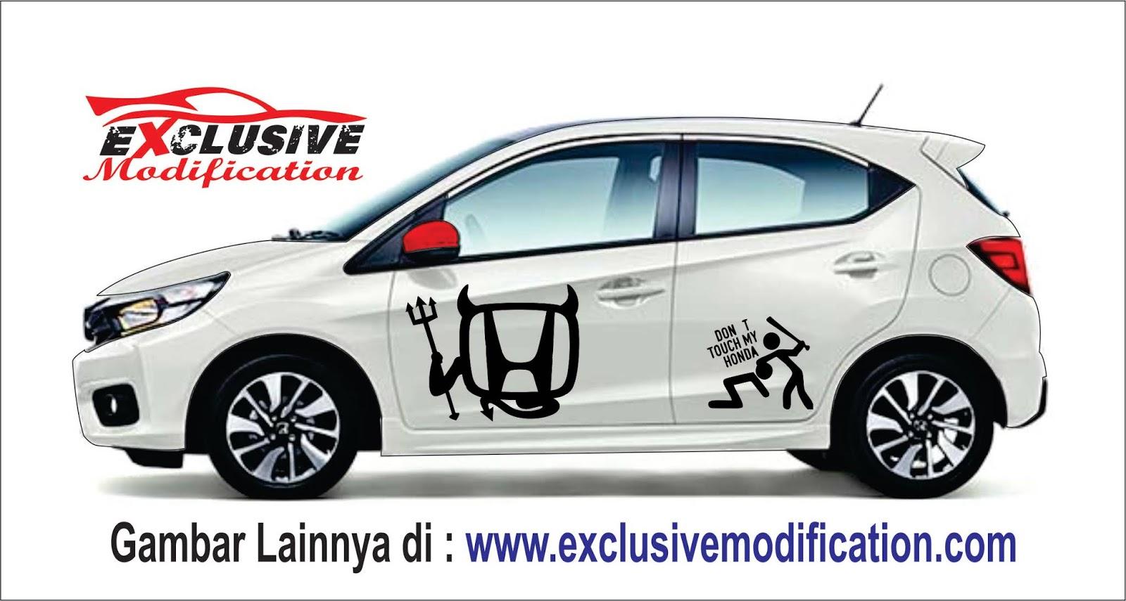 81 Modifikasi Stiker Mobil Brio Putih HD Terbaru